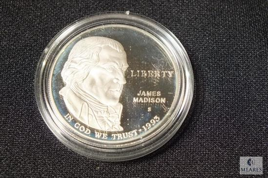 1993 James Madison Commemorative Liberty Dollar