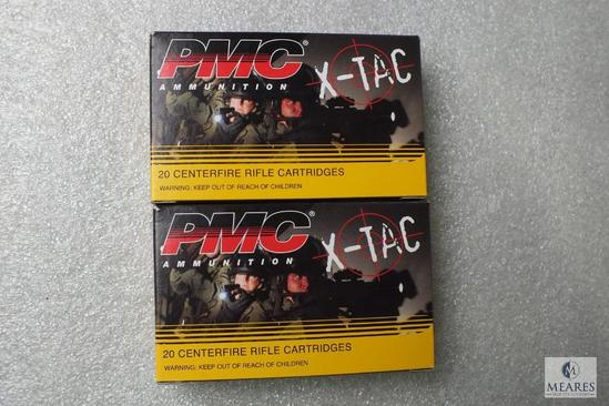 40 Rounds PMC X-Tac 5.56 NATO Green Tip Ammo 62 Grain Ammunition