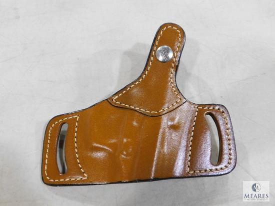 New Hunter leather ambidextrous thumb break holster fits Beretta 92,96 and similar