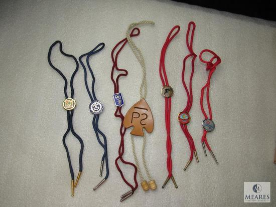 Lot 7 Various BSA National & World Jamboree, Philmont, East Central + Bolo Ties