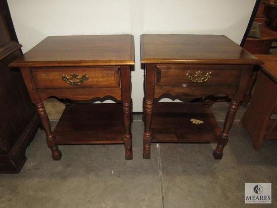 Twin End Table Set