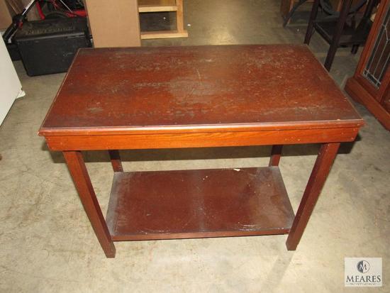 Rectangle Side Table Pressboard type