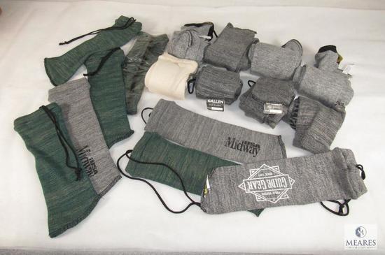 Lot Gun Socks 8 for Long Guns & 8 for hand Guns