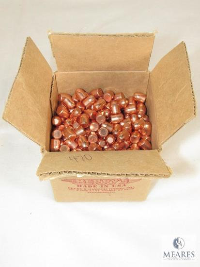 Approximately 470 Berry's Round Shoulder 500 S&W 300 Grain Bullets