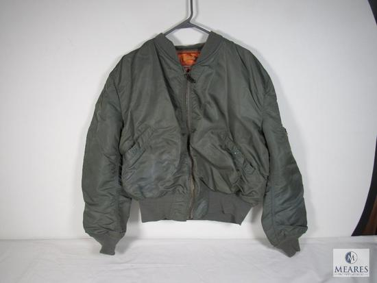 Mens Vintage US Air Force Flying Jacket Size XL / Extra Large
