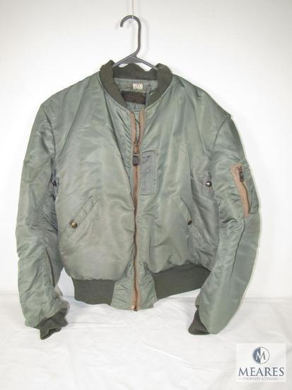 Mens Vintage US Air Force Flying Jacket Size Large