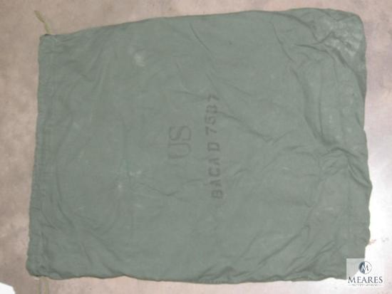 """US marked Drawstring Laundry Bag 32"""" x 24"""" (flat)"""