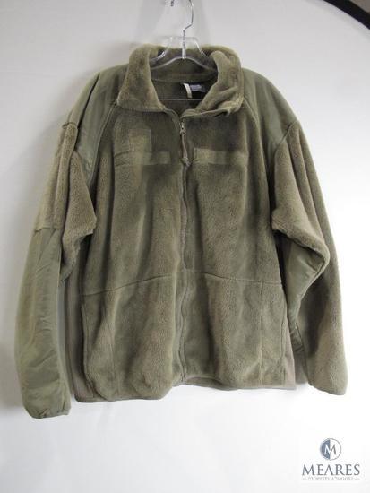 Official US Army Issue GEN III Polartec Fleece Jacket Desert Sand Color