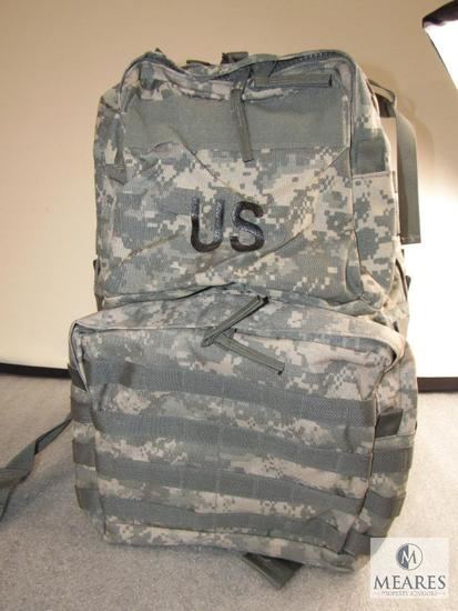 US marked Molle Digital Camo Medium Military Rucksack