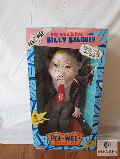 Pee Wee's Playhouse Pal Billy Baloney Doll New in box