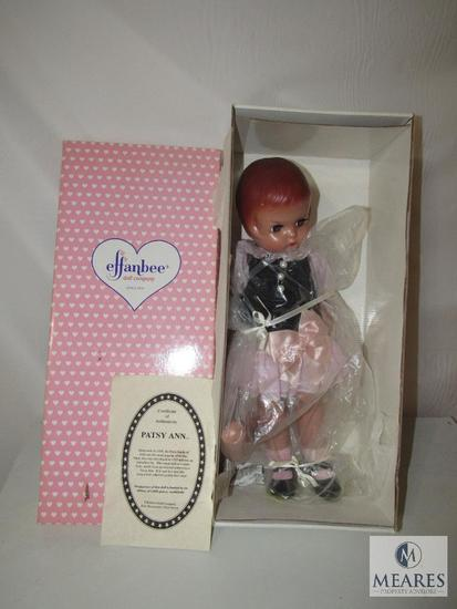 Effanbee Patsy Ann Doll with Certificate of Authenticity New in box