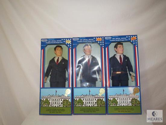 Lot 3 Horsman 1987 Special Edition President Ronald Reagan Doll new in box