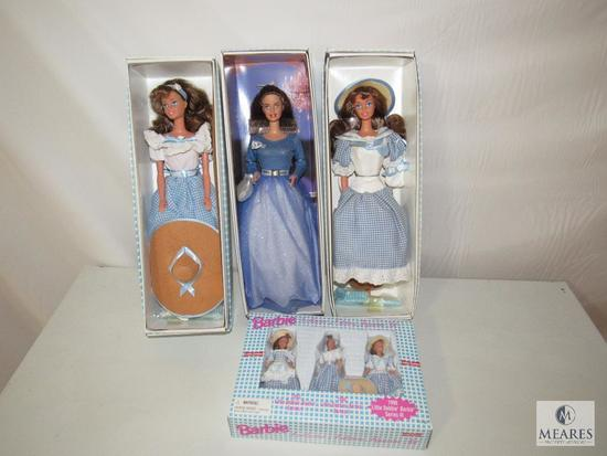 Lot 3 Barbie Dolls Little Debbie Series II & III & IV & Small Barbie Set New in the boxes
