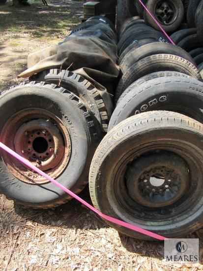 Large lot of Tires