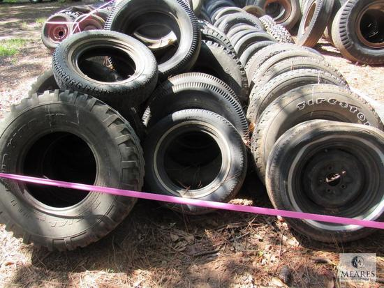 Large lot Tires & Some with Wheels