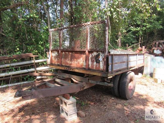Flatbed turned Utility Trailer approximately 6' x 5'