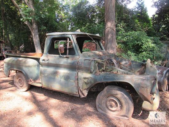 Old Chevrolet Chevy Truck for parts or scrap