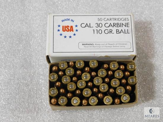 50 rounds 30 carbine ammo