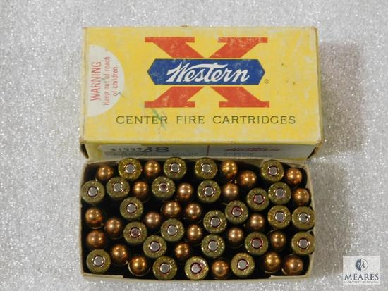 50 rounds 38 auto ammo, vintage western