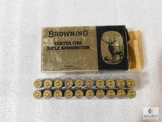 20 rounds Vintage Browning 7 mm Remington Magnum ammo 150 grain