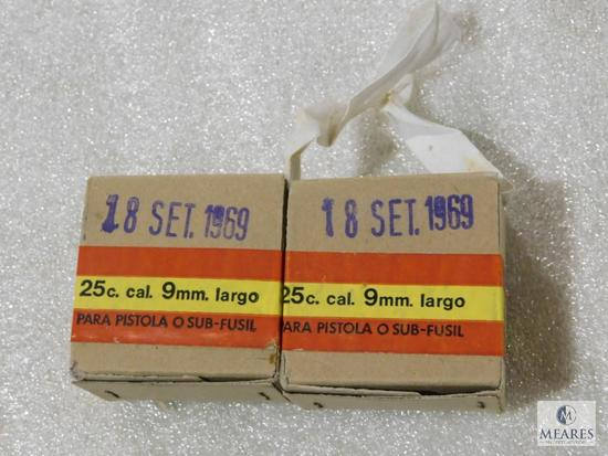 Rare 50 rounds 9mm LARGO ammo