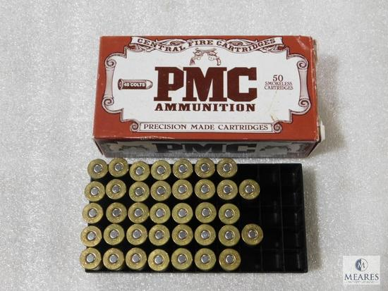 37 rounds PMC 45 Colt ammo 250 grain