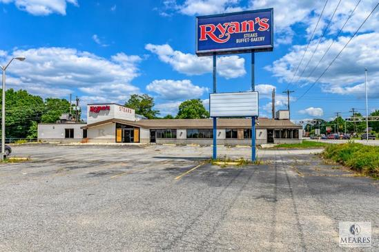 Former Ryan's Steakhouse Location - Anderson, SC