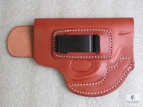 New leather inside waist band holster fits S&W J frame models 642,36, and similar