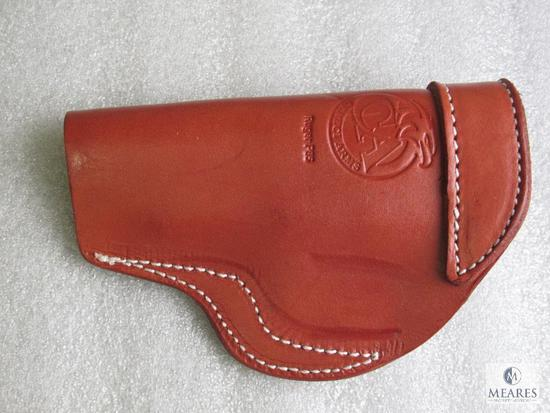 New leather inside waist band holster fits Ruger P85, P89, P90 and similar