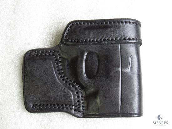 New leather concealment holster fits Smith and Wesson Bodyguard .380 acp