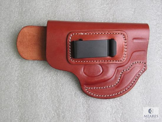 New leather inside waist band holster fits S&W J frame models 642,36,60 and similar