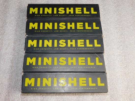 "Lot 100 Aguila Minishell Shotgun 12 Gauge Shells 1-3/4"" Buckshot"