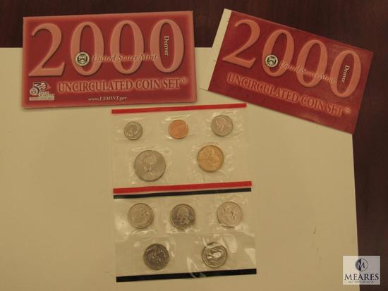 2000 US Mint Uncirculated Coin Set Denver Mint