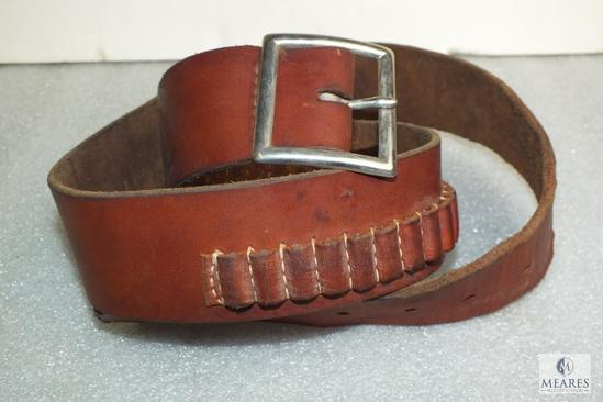 Hunter 122 large .22 caliber leather belt