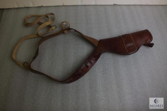 Vintage leather shoulder holster fits Colt 1911