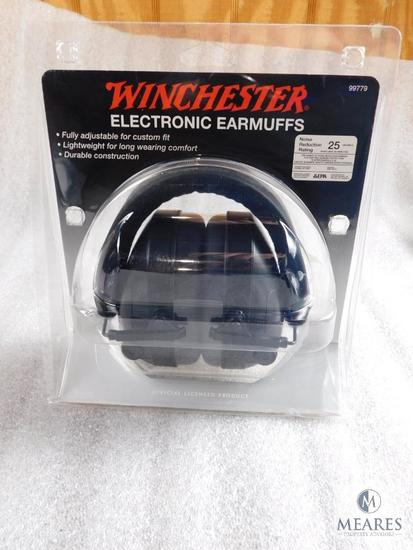 New Winchester electronic ear muffs hearing protection