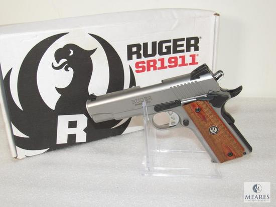 Ruger Stainless SR-1911 Commander .45 ACP Semi Auto Pistol