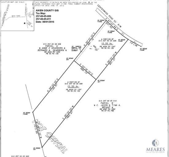 15+/- Acres - 796-A Centerwood Road, Williston, SC