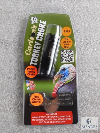New Carlson's .12 gauge extended turkey choke tube with wrench fits invector choked shotguns