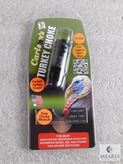 New Carlson's .12 guage extended turkey choke tube with wrench fits invector choked shotguns