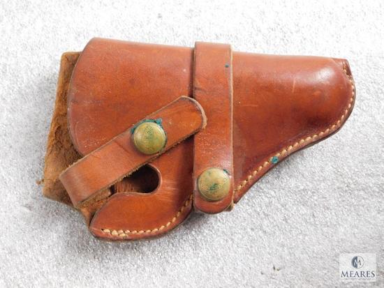 Vintage Hunter leather holster fits S&W J frame revolver like model 36,60