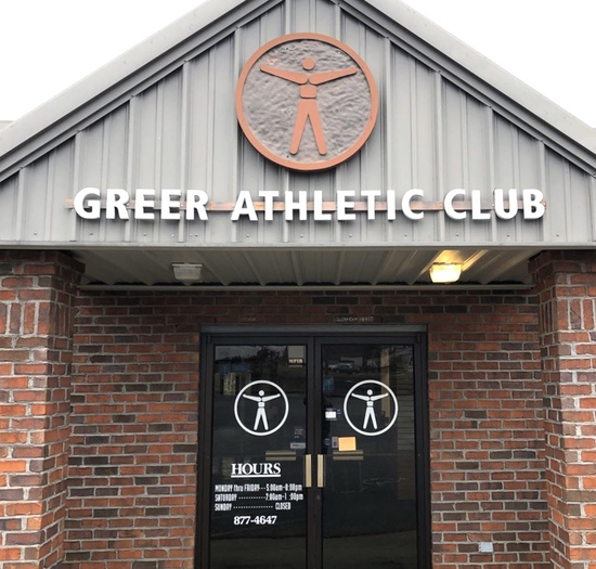 Liquidation Event:  Greer Athletic Club
