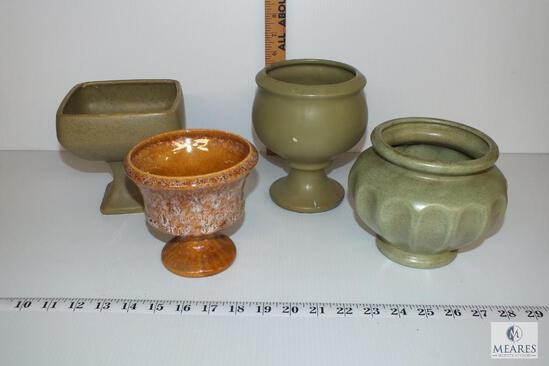 1960's Floraline USA and Haeger USA Florist Pottery Vases