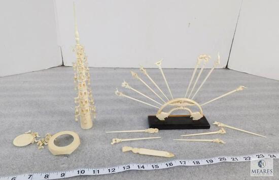 Bone Sculptures, Bone Carvings