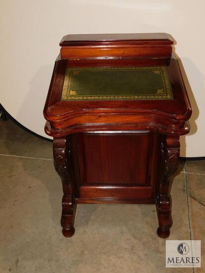 Writing Desk with Storage Drawers on Side Beautiful Piece!