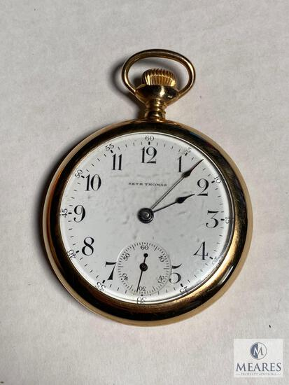 Seth Thomas Openface Pocket Watch