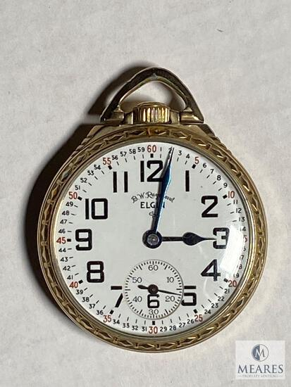 Elgin 571 USA Open face Pocket Watch