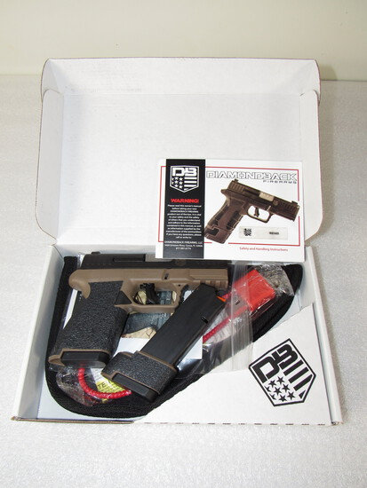 Diamondback DBAM9FDA 9mm Semi-Auto Pistol