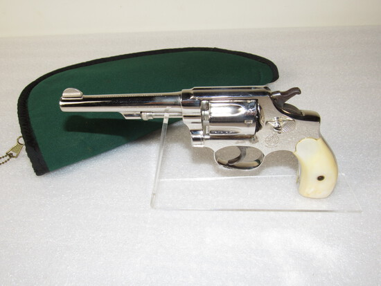 Smith & Wesson .32 Long CTGE Revolver with Mother of Pearl Grips