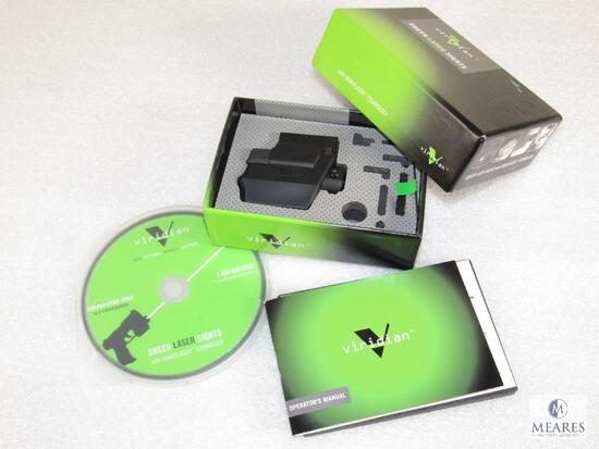 "Viridian SXD Green Laser Sight fits Springfield XD 4 & 5"" Barrels w/ Demo Video"